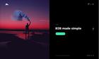 Portfolio Fullscreen Split Slider