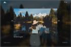 Portfolio Fullscreen Center Slider